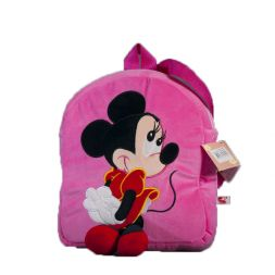 Pink backpack with Mickey