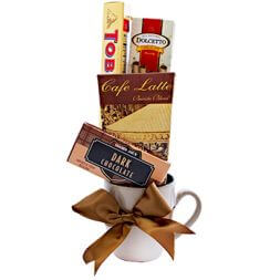 "Gift set ""Coffee and snacks"""