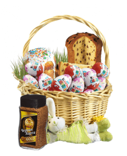 sweet basket chocolate Easter