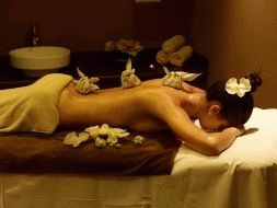 Gift certificate for a Thai massage with herbal bags