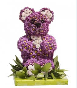 Bear in the lilac gamut