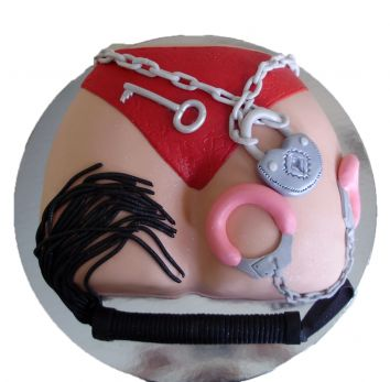 Cake for adults '' BDSM ''