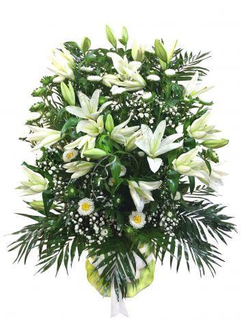Cumpără Aranjament Floral Din Flori Albe în сhișinău Moldova