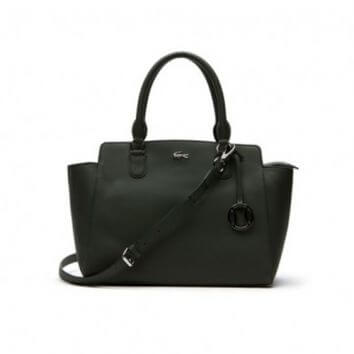 genta Lacoste Womens Daily Classic Bag black
