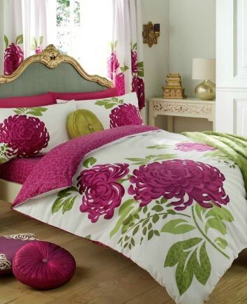 "Double duvet cover set ""Flower"""