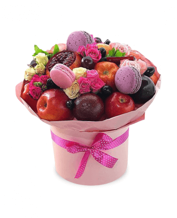 "Bouquet ""Pink box"""
